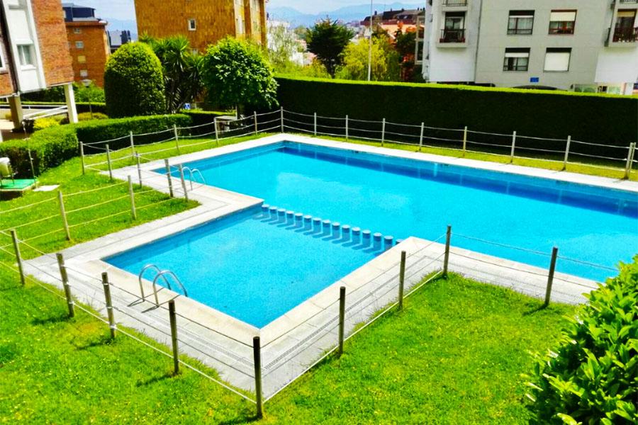 Apartamento con piscina Santander Apartamento Valdenoja Playa Sardinero