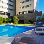 Hotel Valencia Oceanic Managed by Melia Hotels International: Hotel en Valencia Piscina Exterior