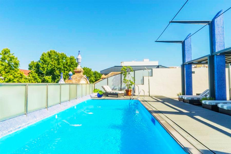 Piscina AC Hotel Ciudad de Sevilla