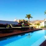 Aire Hotel & Ancient Baths: Hotel en Almería Piscina al Aire Libre