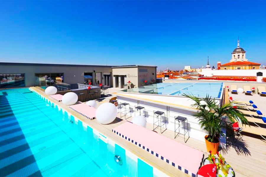 Piscina Axel Hotel Madrid
