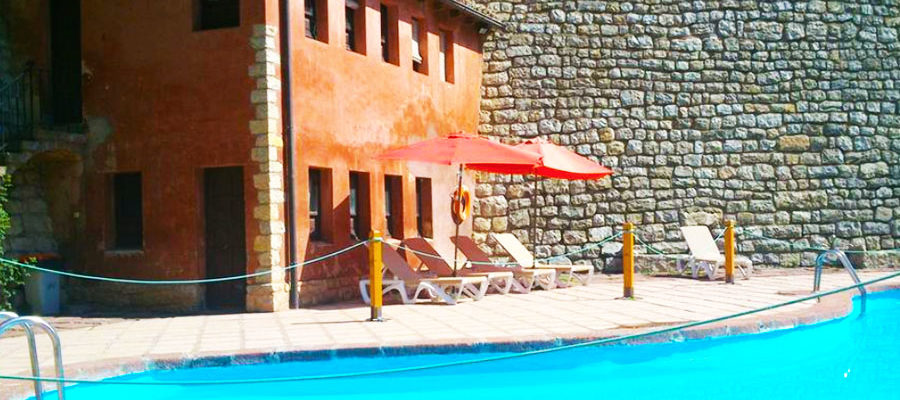 Piscina Hotel Albarracin
