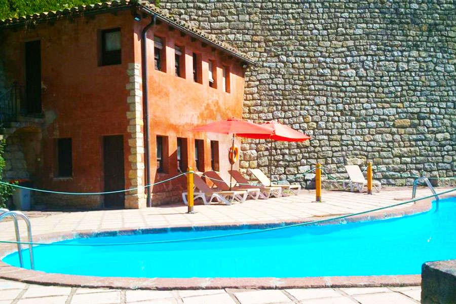 Piscina Hotel Albarracin
