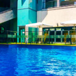 Hotel Badajoz Center: Hotel Badajoz Piscina Exterior al Aire Libre