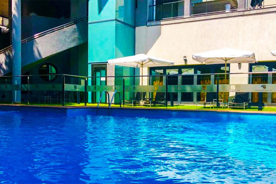 Piscina Hotel Badajoz Center