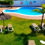 Hotel Campomar Playa: Hotel en El Puerto de Santa María Piscina Exterior