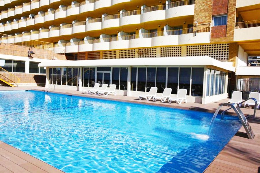 Piscina Hotel Castilla Alicante