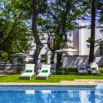 Hotel Duques de Medinaceli: Hotel en El Puerto de Santa María Piscina Exterior