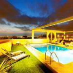 Hotel Eurostars Gran Valencia: Hotel en Valencia Piscina Exterior en la Azotea