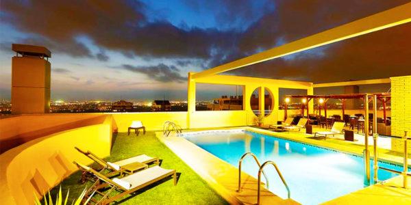Piscina Hotel Eurostars Gran Valencia
