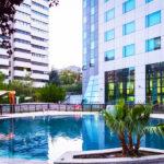 Hotel Eurostars Suites Mirasierra: Hotel en Madrid Centro Piscina al Aire Libre