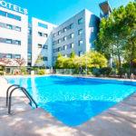 Hotel Exe Madrid Norte: Hotel en Madrid Piscina al Aire Libre