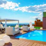 Hotel Exe Moncloa: Hotel en Madrid Piscina al Aire Libre