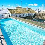 Hotel Hospes Las Casas del Rey de Baeza: Hotel en Sevilla Piscina en la Azotea