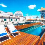 Hotel Iberostar Las Letras Gran Via: Hotel en Madrid Piscina Terraza Azotea