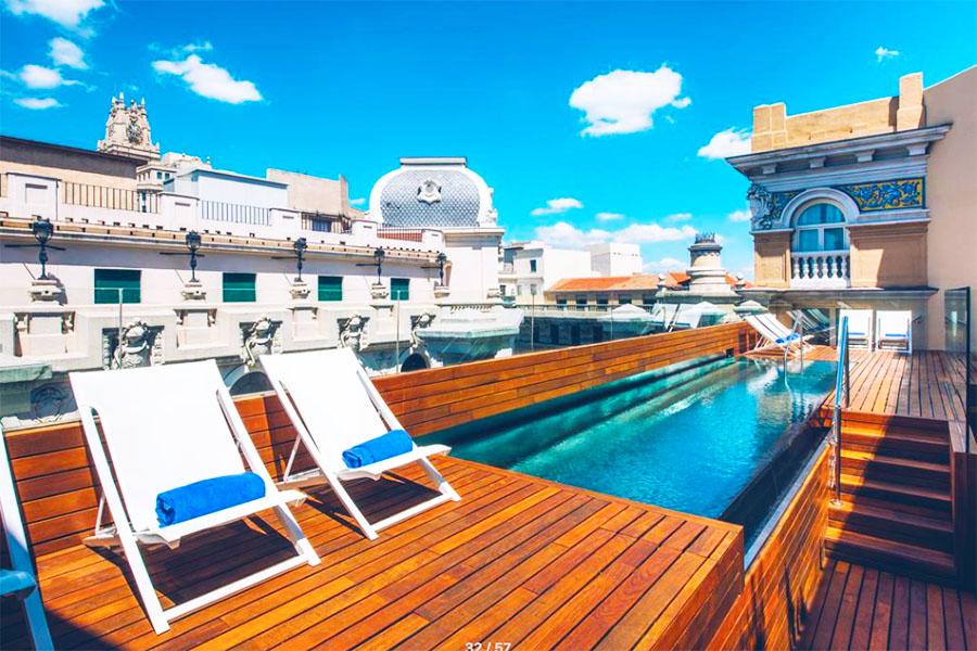 Piscina Hotel Iberostar Las Letras Gran Via