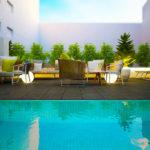 Hotel Intur Castellón: Hotel en Castellón Piscina al Aire Libre