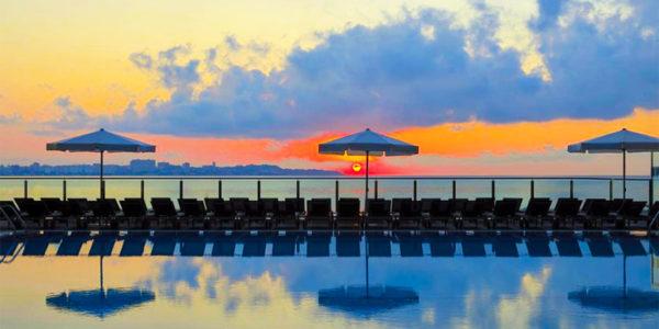 Piscina Hotel Melia Alicante