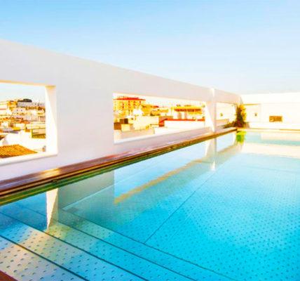 Piscina Hotel Mercer Sevilla