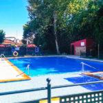 Hotel Mercure Rio Badajoz: Hotel en Badajoz Piscina al Aire Libre