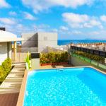 Hotel NH Alicante: Hotel en Alicante Piscina Azotea