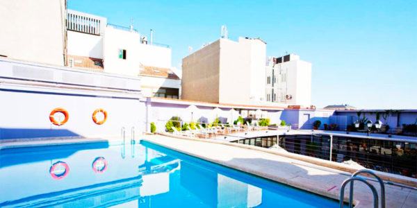 Piscina Hotel NH Collection Madrid Colon