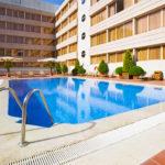 Hotel Novotel Campo De Las Naciones: Hotel en Madrid Piscina al Aire Libre