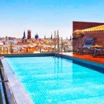 Hotel Palacio de los Duques Gran Meliá: Hotel en Madrid Piscina en la Azotea