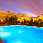 Hotel Port Feria Valencia: Hotel en Valencia Piscina al Aire Libre