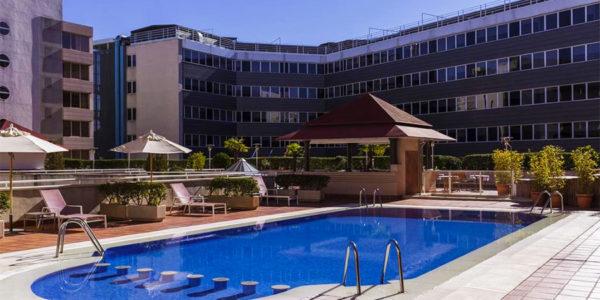 Piscina Hotel Pullman Madrid Airport & Feria