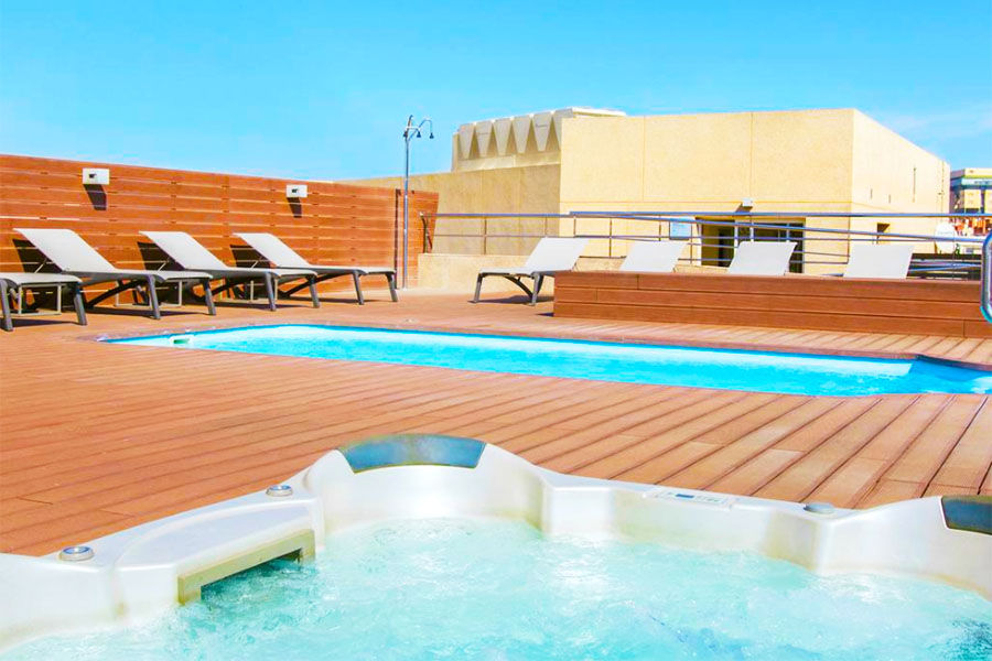Piscina Hotel SB Ciutat de Tarragona