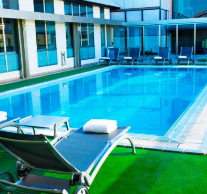 Piscina Hotel SH Valencia Palace