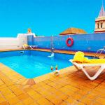 Hotel San Gil: Hotel en Sevilla Piscina al Aire Libre