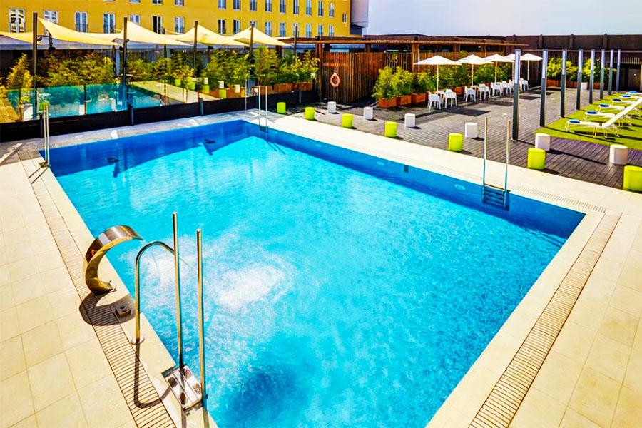Piscina Hotel Sercotel Alcalá 611