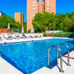 Hotel Sercotel Madrid Aeropuerto: Hotel en Madrid Piscina al Aire Libre