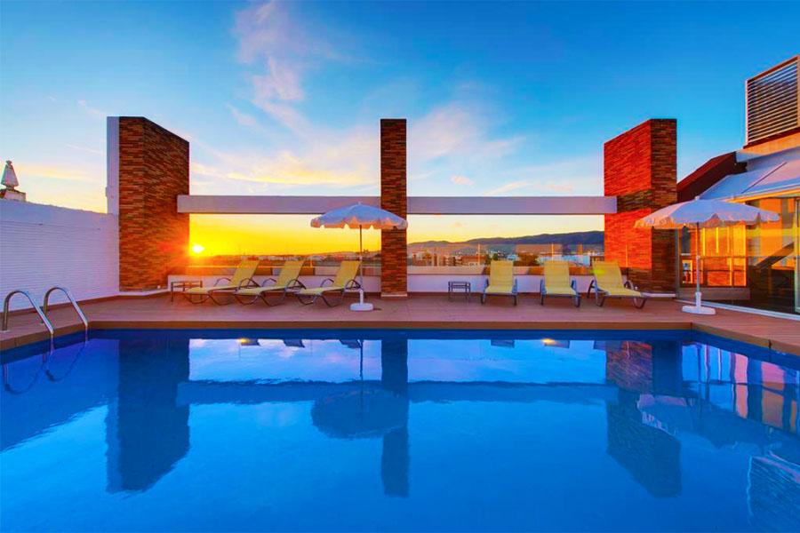 Piscina Hotel Tryp Cordoba