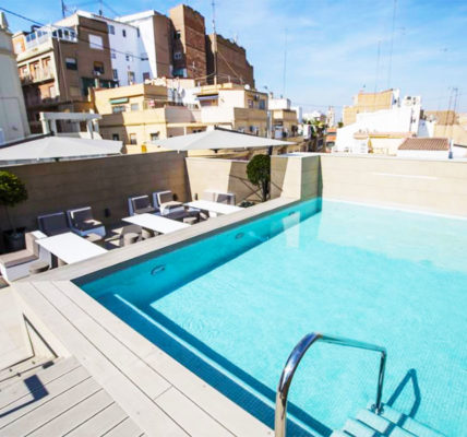 Piscina Hotel Vincci Mercat