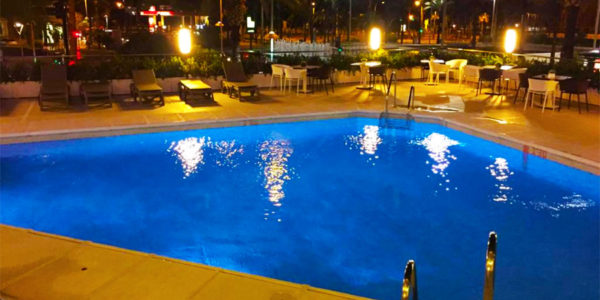 Piscina Ohtels Gran Hotel Almeria