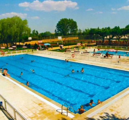 Bungalow con piscina Salamanca Bungalows Camping Regio