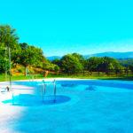 Camping Cabañas Maleixas: Camping en Zamora Piscina Exterior