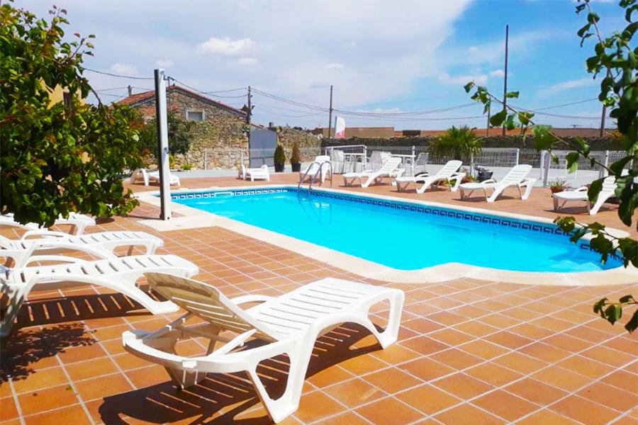Casa Rural con piscina Zamora El Pilar de Don Gregorio