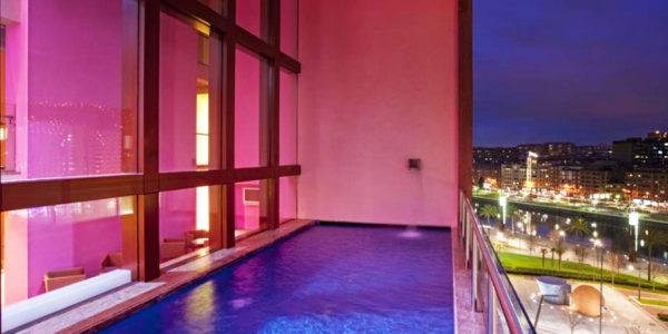 Hotel con piscina Bilbao Hotel Melia Bilbao