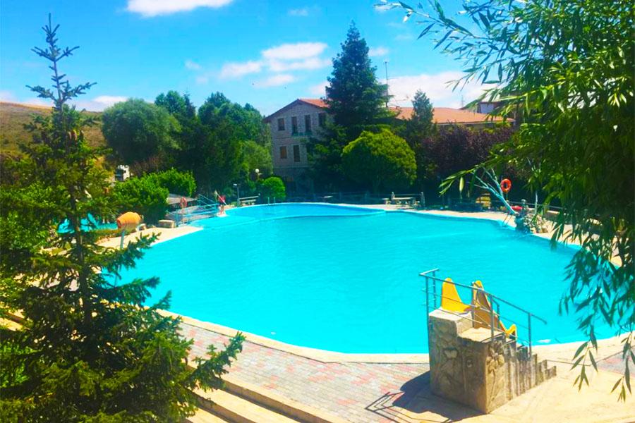 Camping con piscina Burgos Picon del Conde