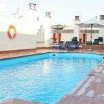 Hotel Corona de Granada: Hotel en Granada Piscina al Aire Libre