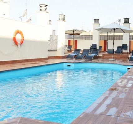 hotel con piscina granada Hotel Corona de Granada