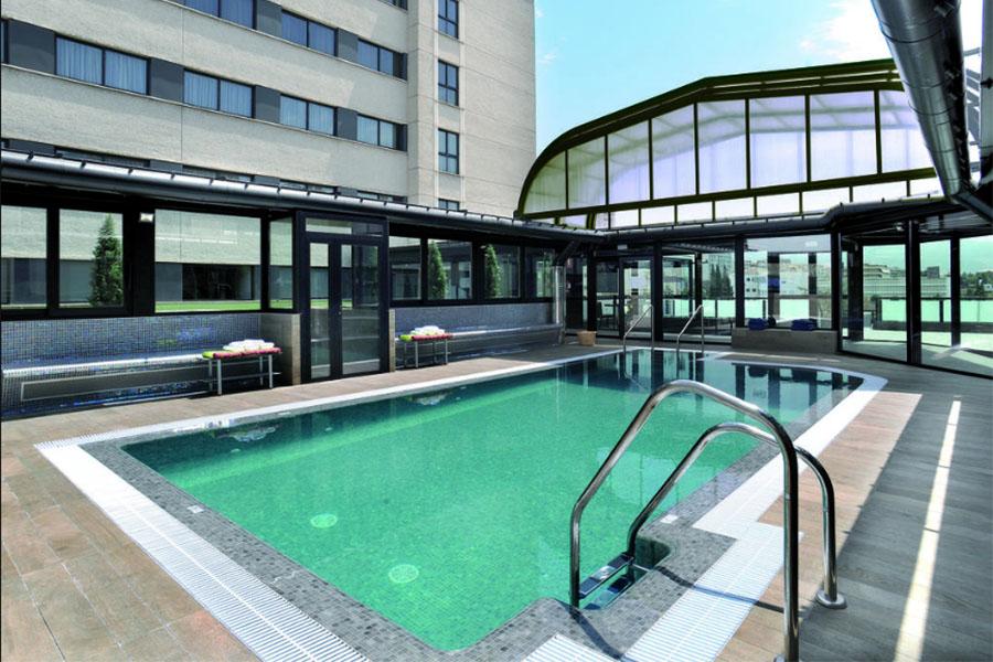 hotel con piscina granada Sercotel Gran Hotel Luna de Granada