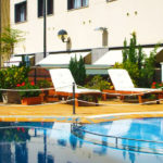 Hotel & Spa Real Jaca: Hotel en Jaca Piscina al Aire Libre