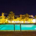Hotel Ilunion Mérida Palace: Hotel en Mérida Piscina en la Azotea