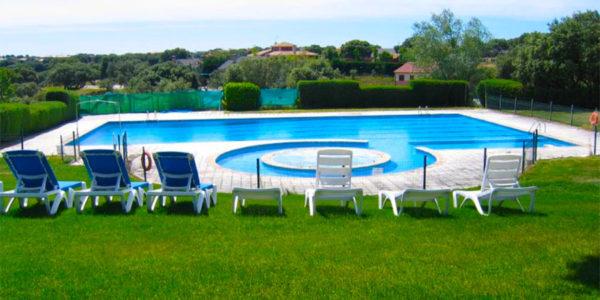 Hotel con piscina Salamanca Estudio con Wifi vistas Campo Golf Salamanca