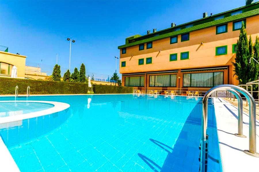 Hotel con piscina Salamanca Sercotel Horus Salamanca